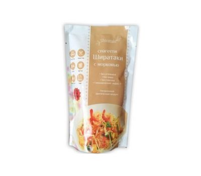 Спагетти Ширатаки с морковью фото