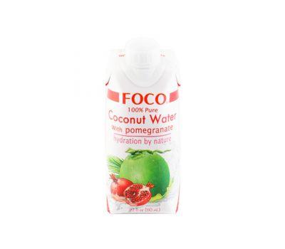 Кокосовая вода с соком граната Foco фото