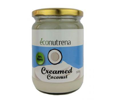 Кокосовый крем взбитый органический 68% Econutrena фото