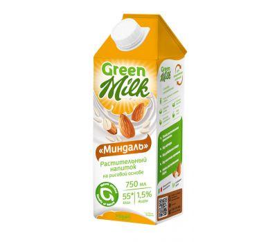Напиток рисовый Миндаль Green Milk фото